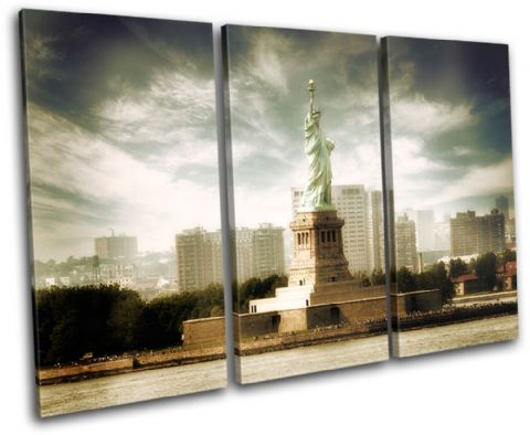 NYC Statue of Liberty Landmarks - 13-1805(00B)-TR32-LO